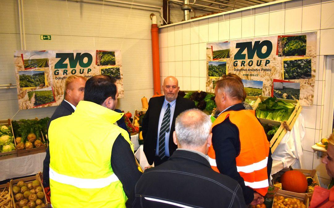 Návštěva ministra zemědělství